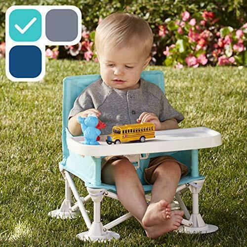 Baby Toddler Travel Booster Seat Folding Portable High Chair Eating Camp Beach