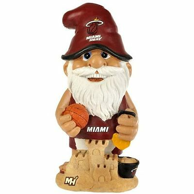 Miami Heat Decorative Thematic Garden Gnome NEW 11