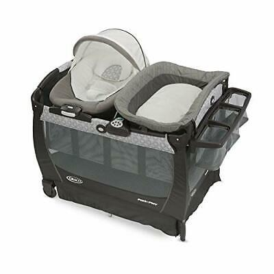Graco Baby Pack 'n Play  Snuggle Suite LX - Crib Bassinet Bo