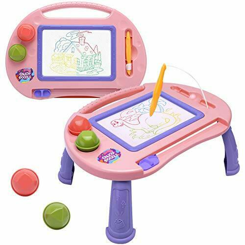 Magnetic Drawing Board,Toys for 1-2 Year Old Girls,Magna Erasable Doodle Board f