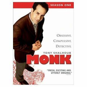 Monk (the OCD detective) Season 1 & 2 (lightly used)
