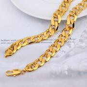 Mens 24K Gold Chain
