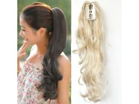 Clip In Synthetic Hair Ponytail