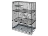 3 level chinchilla cage