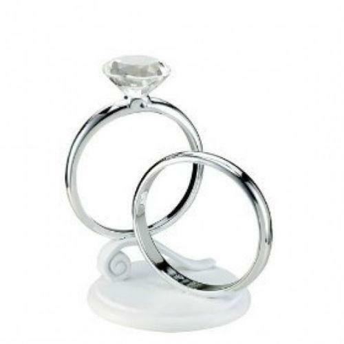 Wedding Ring Cake Topper Ebay