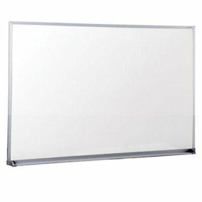 Universal Dry Erase Whiteboard 36 X 24 Aluminum Frame Each Unv43623