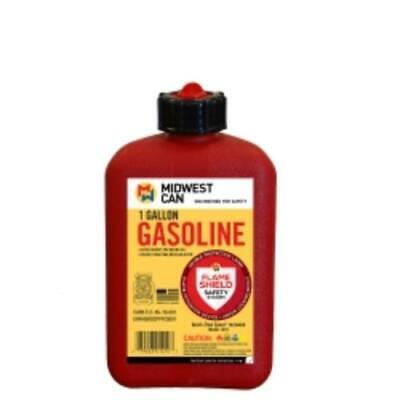 Midwest Can 1210 Fmd Gasoline Container 1 Gallon Gas Can Plus 4 Oz. For Oil