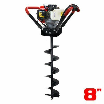 V-type 55cc 2 Stroke Gas Post Hole Digger One Man Auger 8bit