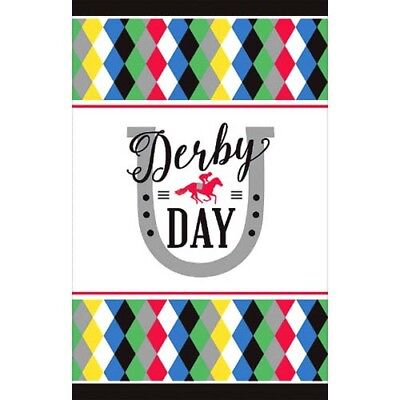 KENTUCKY DERBY DAY PAPER TABLE COVER ~ Birthday Party Supplies Cloth Decoration](Paper Table Cloth)