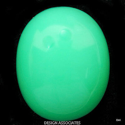 9x7  MM Oval Chrysoprase AAA ALL NATURAL