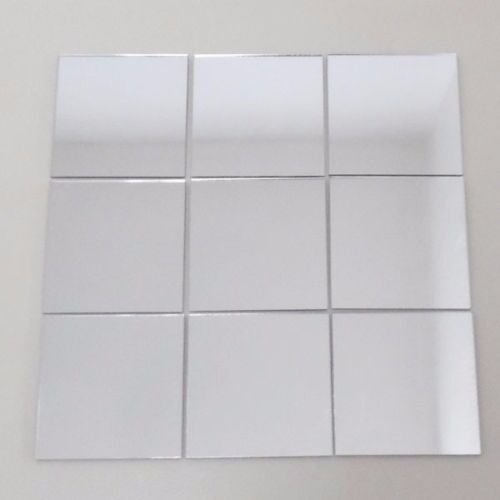 New In Box X100 Square 10cm By Gloss Ceramic Tiles White