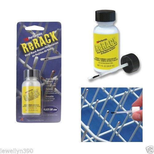 Performix ReRack WHITE Vinyl Dishwasher Rack Repair 1oz NEW!