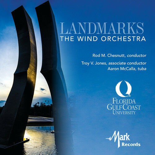 Broughton / Ellerby - Landmarks: The Wind Orchestra [New CD]