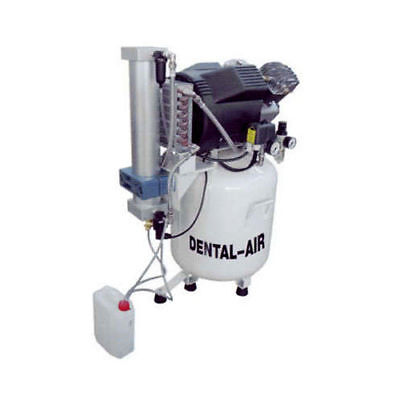 Silentaire Da-3-50-379 Dental Air Compressor With Dryer And Cabinet