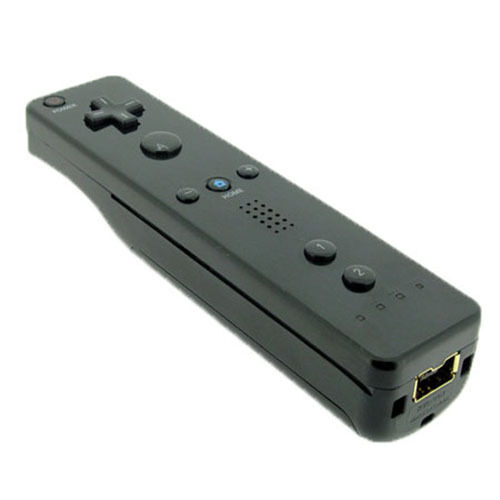 Black Remote Wiimote Nunchuck Controller Set Combo for Nintendo Wii Game