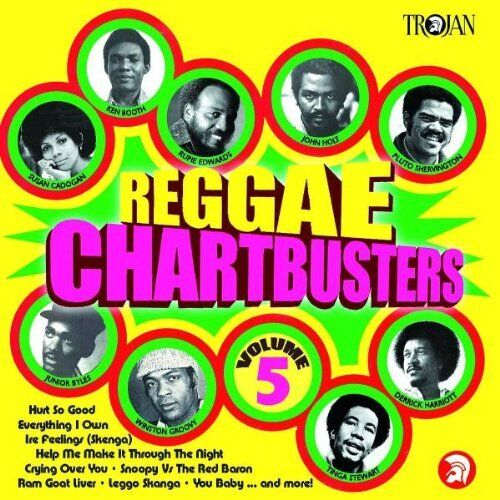 VARIOUS ARTISTS - REGGAE CHARTBUSTERS VOL 5 [CD]