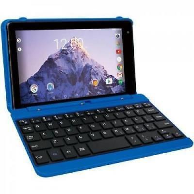 "RCA Voyager Pro 7"" 16GB Tablet with Keyboard Android 6.0 (Marshmallow) Blue"