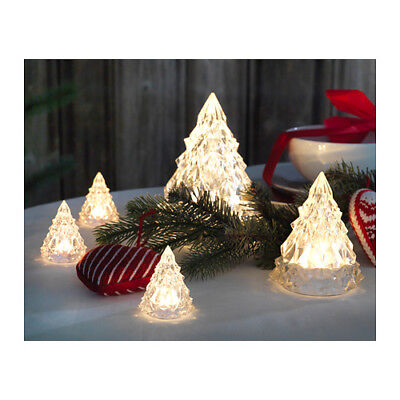 IKEA VINTER BATTERY OPERATED LED CRYSTAL SHAPES CHRISTMAS PARTY DECORATIVE LIGHT