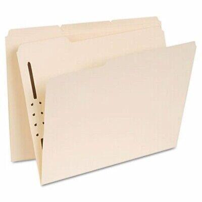 Universal Manila Folders One Fastener 13 Tab Letter 50box Unv13410