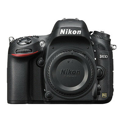 Nikon D610 Digital SLR Camera 24.3 MP CMOS FX-Format Body Only