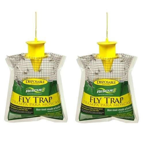 Rescue Disposable Fly Trap Catches Up To 20000 Flies Just Ad
