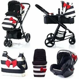 Cosatto giggle pram, 3in1 travel system-Go Lightly