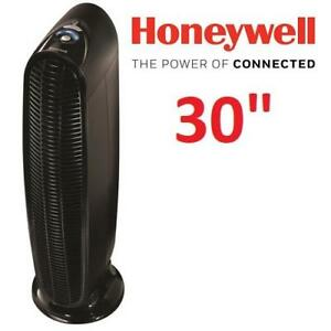 NEW HONEYWELL AIR PURIFIER HFD140BWMV1 213297579 OSCILLATING TOWER W/HEPA FILTER