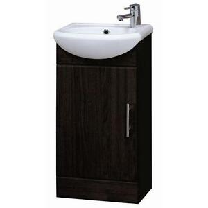 Bathroom Cabinets 500mm Wide bathroom vanity unit: home, furniture & diy | ebay