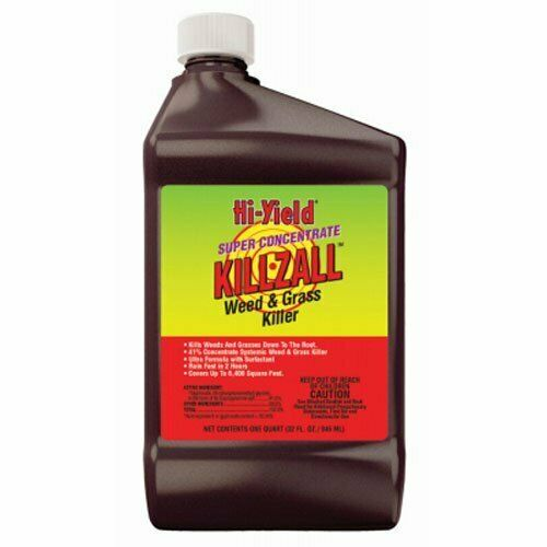 Hi-Yield 33692 32oz Killzall Concentrate Weed and Grass Killer