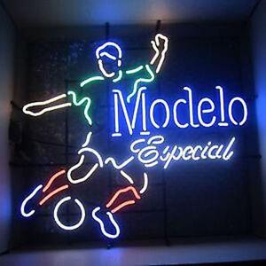 New Modelo Especial Soccer MLS Beer Neon Light Sign 19