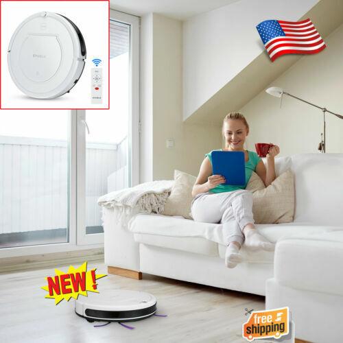 Robotic Vacuum Cleaner Powerful Quiet Self-Charging Floor Cl