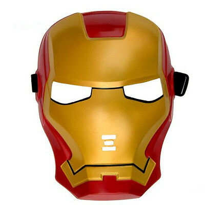 Avengers Iron Man LED Mask Light Up Cosplay Custome Accs Party Halloween Mask - Iron Man Halloween