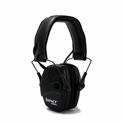 Honeywell 1034490 Howard Leight Impact Sport Weiche Ohrenschützer, schwarz, 1