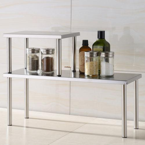 stainless steel shelves kitchen ebay. Black Bedroom Furniture Sets. Home Design Ideas