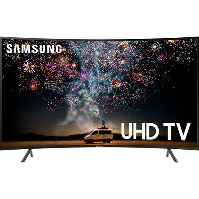 "Samsung 55"" RU7300 Charcoal Black Curved LED 4K UHD Smart HDTV - UN55RU7300FXZA"