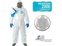 Microgard 2000 Comfort Overralls in sizes L and XL