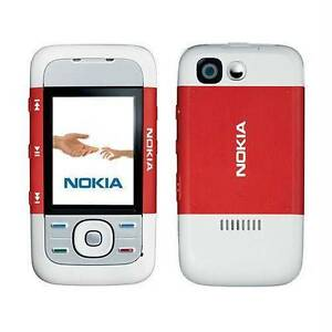 Refurbished-Nokia-5300-Unlock-Cell-Phone-Red
