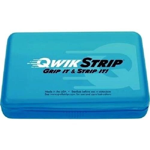 Qwikstrip™ Abrasive and Serrated Finishing Strips ( WHITE ) 10/Pkg - QS-SER