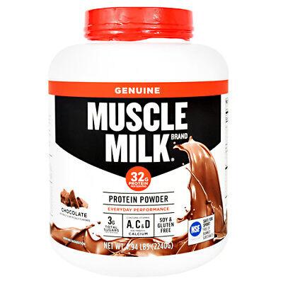 CytoSport Muscle Milk Protein Powder Shake 4.94 lbs, 64 Servings PICK FLAVOR Milk Protein Powder