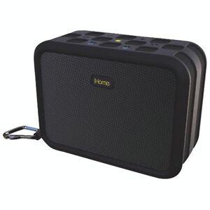 *iHOME* iBN6BC WATERPROOF BLUETOOTH SPEAKER 14hrs Battery