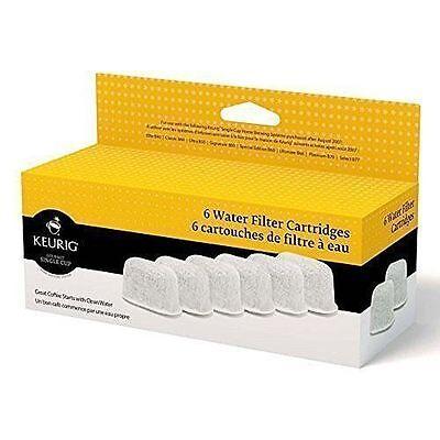 Keurig Six Water Filter Cartridges 6 filters Keurig