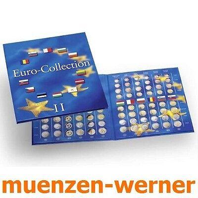 Münzenalbum Münzalbum PRESSO von Leuchtturm für 12 KMS neue Euro•Länder