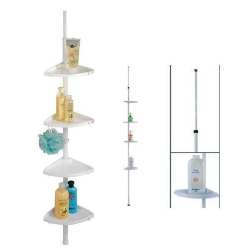 plastic shower corner shelves ebay. Black Bedroom Furniture Sets. Home Design Ideas