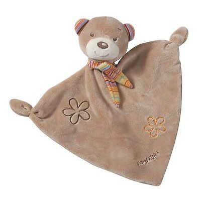 """FEHN Schmusetuch """"Teddy"""" Kuscheltuch NEU braun"""