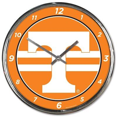 WinCraft Tennessee Volunteers Chrome Wall Clock