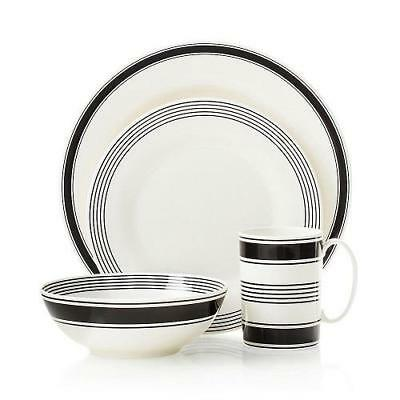 KATE SPADE Lenox  CONCORD SQUARE 4 Piece Place Setting  ~ NEW NWT