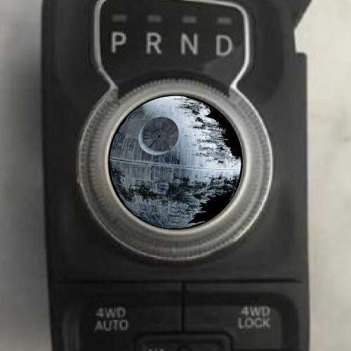 Dodge Ram Death Star Shift Knob Decal Sticker Graphic Vinyl Gear Drive Park