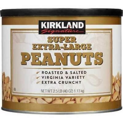 KIRKLAND Signature SUPER EXTRA-LARGE PEANUTS 1.13kg NEW! LOCAL STOCK!