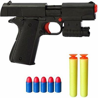 Rivoean Toy Gun - 1 Pcs Black Pistol Realistic 1:1 Scale Colt M1911A1...