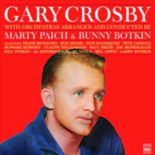 GARY CROSBY (VOCALS) - BELTS THE BLUES/HAPPY BACHELOR NEW CD